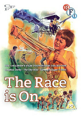 Children's Film Foundation Collection Vol 2 The Race Is On - 3 Films NEW PAL DVD
