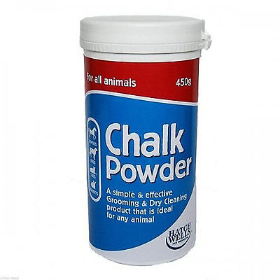 Hatchwells White Chalk Powder For Show Horses & Dogs 450g or 3kg