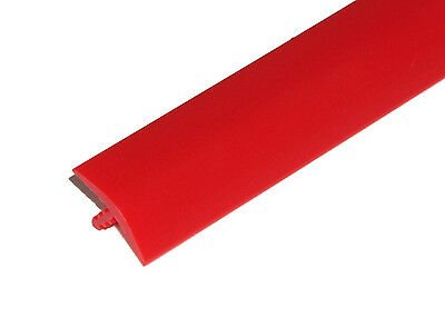 20ft of 5/8 Bright Red T-Molding for Arcade Games or Mame Machines