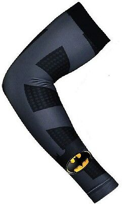 Black Batman Dark Knight Basketball Sport Arm Sleeve Baseball Football Digital
