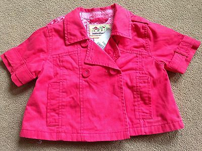 BNWT NEXT Pink Short Sleeved Jacket 3-4 Years