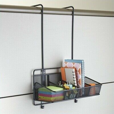 Safco Onyx Panel Organizer Supplies 4 Pocket in Black Transitional Office Panels