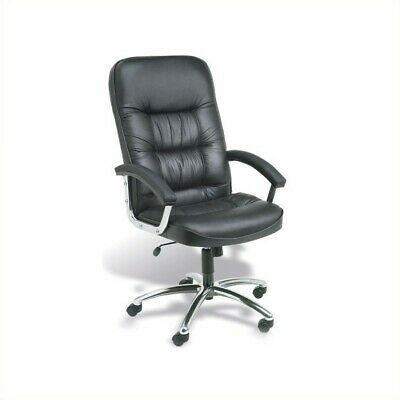 boss office products b7601 executive leatherplus chair with padded