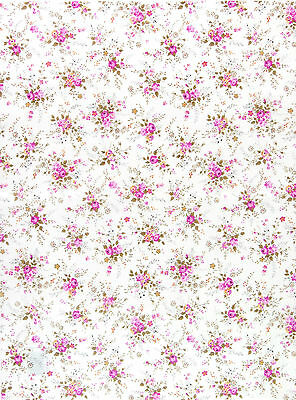 Decopatch Decoupage Printed Paper Pretty Flowers