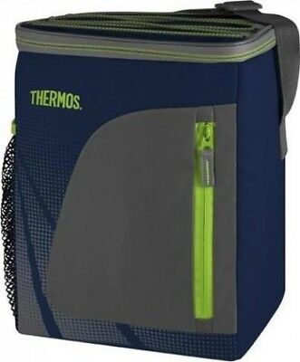 Thermos Radiance Insulated Cooler Bag for Camping Food Storage |Navy Blue|12 Can