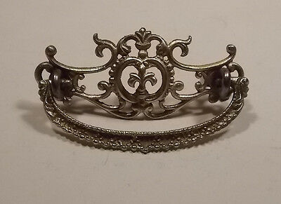 Ornate Antique Original Vintage Brass pull