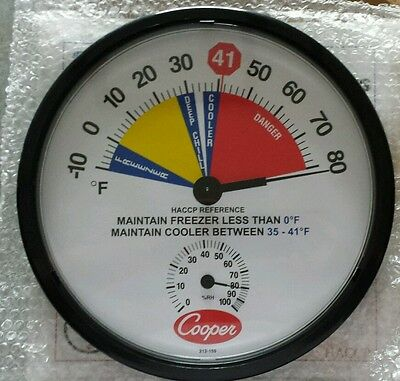 Cooper-Atkins 212-159-8 Freezer/Cooler Thermometer