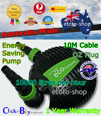 Jebao 10000L Energy Saving Soft Solid Pond Pump 50% Efficient