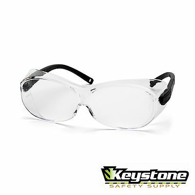 Pyramex Safety OTS XL Fit Over the Glasses Clear Lens  ANSI Z87 High Impact