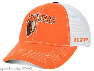 Hooters Ruckus Elite Mesh One Size Stretch Fit Cap Hat - Free US Shipping - New!