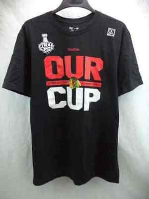 NHL Chicago Blackhawks Stanley Cup Ice Hockey Shirt Jersey Top