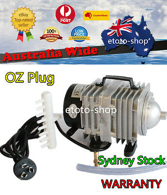 Aquarium Fish Pond Aerator Air Pump Electromagnetic 8 Outlets