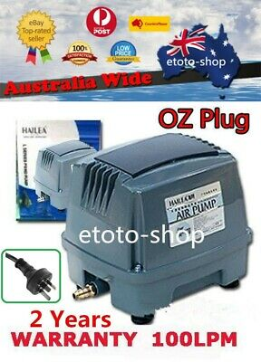 Hailea HAP-100 Aquaculture Aquarium Pond Septic Tank Air Pump 100L/M