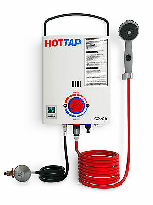 Joolca Hottap LPG Gas Portable Hot Water System Heater, Camper Caravan Outdoor S