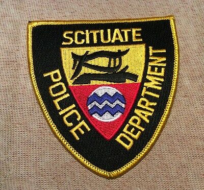 RI Scituate Rhode Island Police Patch