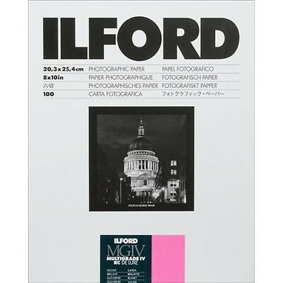 "Ilford Multigrade IV RC Deluxe Glossy 8x10"" Photographic Paper (100 Sheets)"