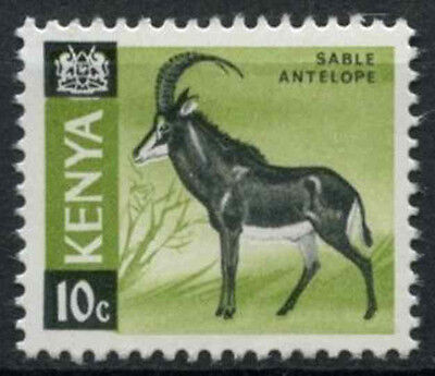 Kenya 1966-71 SG#21a, 10c Definitive Sable Antelope MNH Glazed Paper #D11170