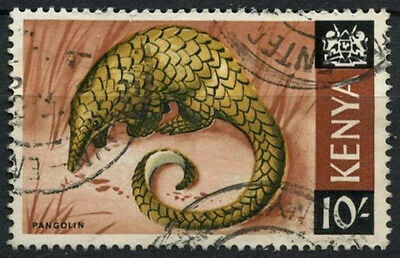 Kenya 1966-71 SG#34, 10s Definitive Pangolin Used #D11191