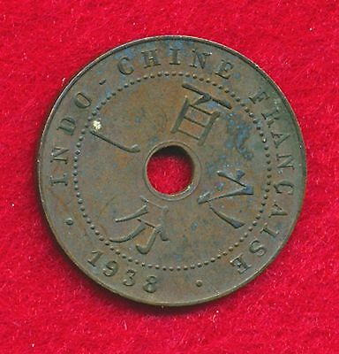 French Indo-China 1938 CENT  (Bronze)