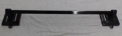 Antique Cast Iron Black Porcelain Towel Bar Old Vintage Bathroom Hardware 132-16