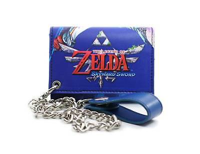 The Legend Of Zelda Skyward Sword Tri-Fold Wallet with Chain
