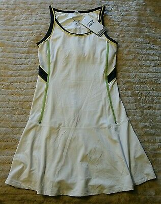 NWT Tail Tech Athletic Fit Moisture Wicking Performance size XS White Golf Dress