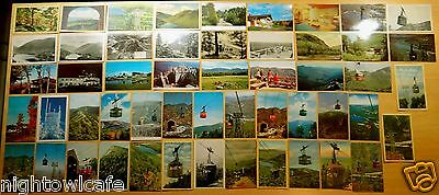 Big Lot of 52 Antique & Vintage Postcards ALL CANNON MOUNTAIN, FRANCONIA, NH