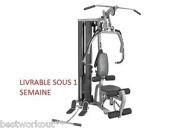 banc musculation pro station multifonction exercice fitness gym musculation