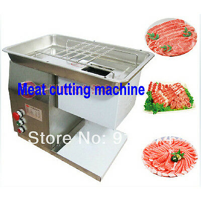110V/220v electric stainless steel meat cutter slicer meat cutting machine beef