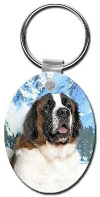 Saint Bernard Key Chain