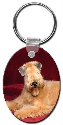 Soft Coated Wheaten Key Chain