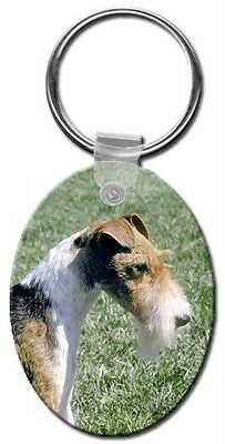 Wire Fox Terrier Key Chain