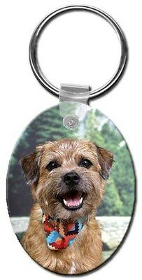 Border Terrier Key Chain