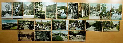 Lot of 22 Antique Postcards ALL JACKSON, NH New Hampshire 7 Undivided Back UDB