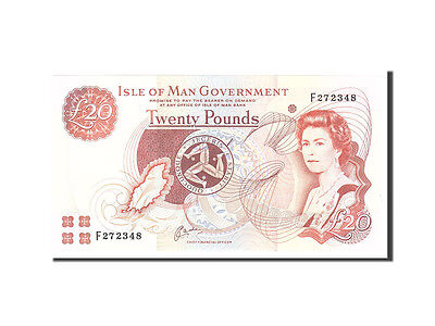 [#113569] Isle of Man, 20 Pounds, 2000, KM:45a, Undated, UNC(65-70)