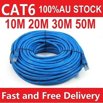 0.5m 1m 2m 3m 5m 10m 15m 20m 30m Cat6 Network Ethernet Cable 100M/1000Mbps