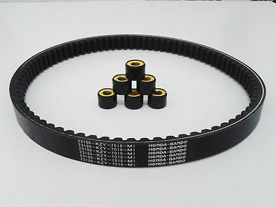 Honda Pcx 150 Genuine Oem Roller Weight And Drive Belt Set 2012 - 2014 Esp