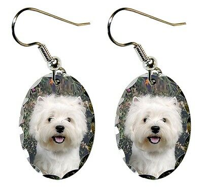 West Highland White Terrier Earrings