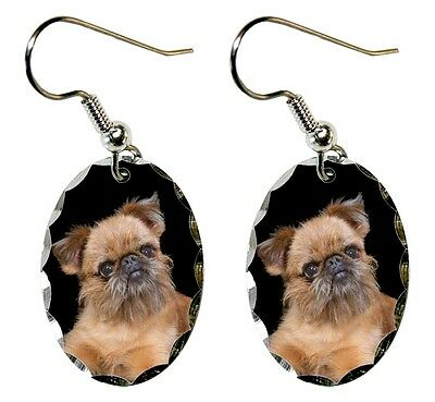 Brussels Griffon Earrings