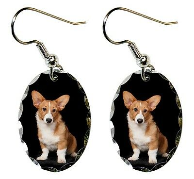 Cardigan Welsh Corgi Earrings