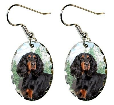 Gordon Setter Earrings