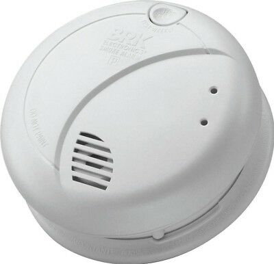 BRK 7010BE AC/DC Photoelectric smoke alarm with 9v alkaline battery back-up