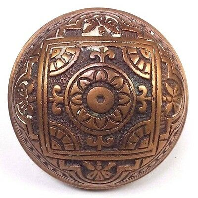 ~~~~ Collectible Antique Entry Corbin Brass Doorknob 1885 Door Knob Hardware vtg • CAD $69.24