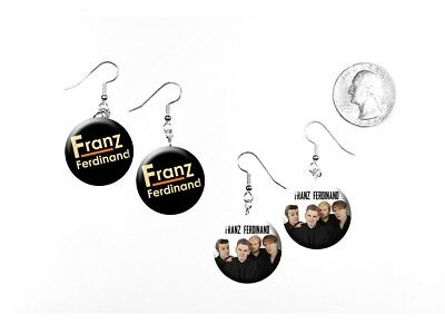 Franz Ferdinand Alternative Rock Band Take Me Out 2 Pairs of Charm Earrings