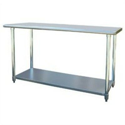 "Buffalo Tools Sportsman Series Stainless Steel Work Table 24"" x 60"" SSWTABLE60"