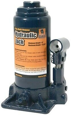 Buffalo Tools Black Bull 8 Ton Hydraulic Bottle Jack HBJ8 Lift Jack NEW