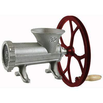 Buffalo Tools Sportsman Series 32 Cast Iron Meat Grinder w/Pulley SM07528 NEW