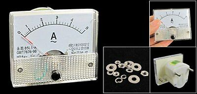 85L1-A Class 2.5 Accuracy AC 5A Analog Panel Ammeter