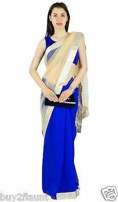 Party Wear Indian Bollywood Saree Ethnic Pakistani Designer Sari Wedding  6006