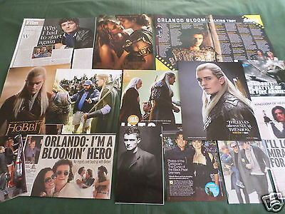 Orlando Bloom - Film Star - Clippings /cuttings Pack